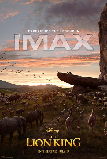 Lion King, The (IMAX) movie poster