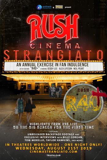 RUSH: Cinema Strangiato 2019 - in theatres 08/21/2019