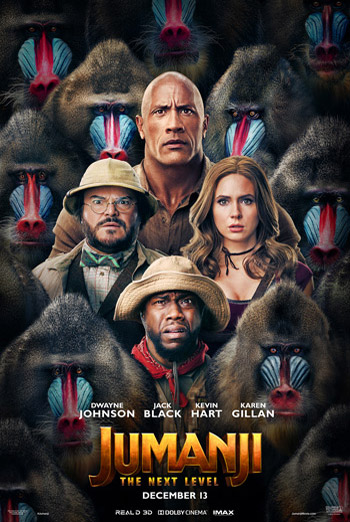Jumanji: The Next Level - in theatres 12/13/2019