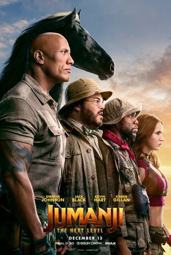 Jumanji: The Next Level movie poster