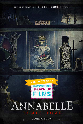 Annabelle Comes Home (Park Stroller) movie poster