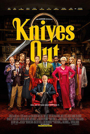 Knives Out - in theatres 11/27/2019