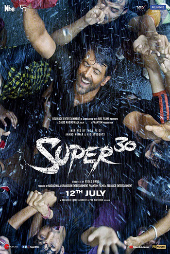 Super 30 (Hindi W/E.S.T.) - in theatres 07/12/2019