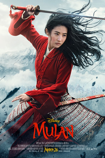 Disney's Mulan - in theatres 3/27/2020