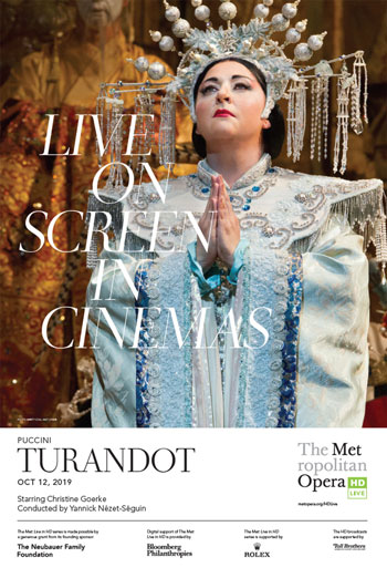Turandot (MET 19/20) movie poster