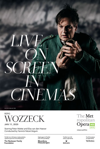 Wozzeck (MET 19/20) movie poster