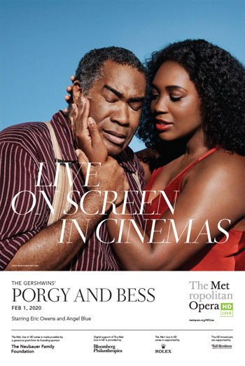 MET Opera: Gershwin's Porgy and Bess