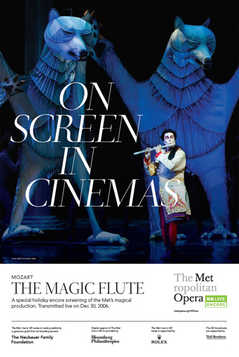 Magic Flute (MET 19/20) - in theatres 12/07/2019