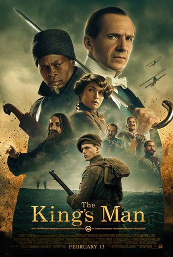 King's Man, The movie poster