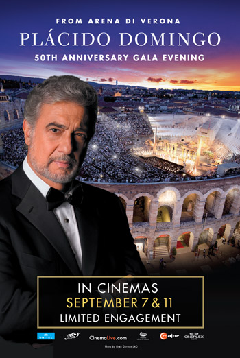 Placido Domingo 50th Anniversary Concert movie poster