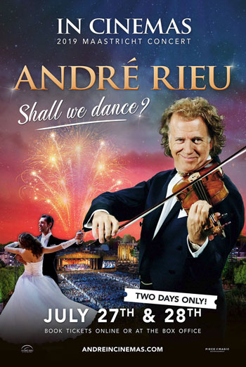 Andre Rieu's 2019 Maactricht Shall We Dance? movie poster