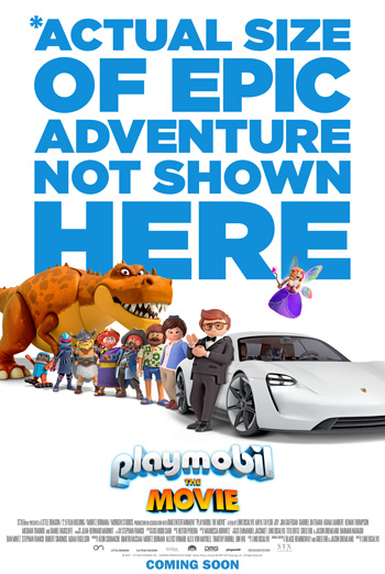 Playmobil: The Movie - in theatres 12/06/2019