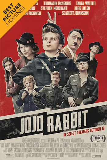 Jojo Rabbit - in theatres 11/01/2019