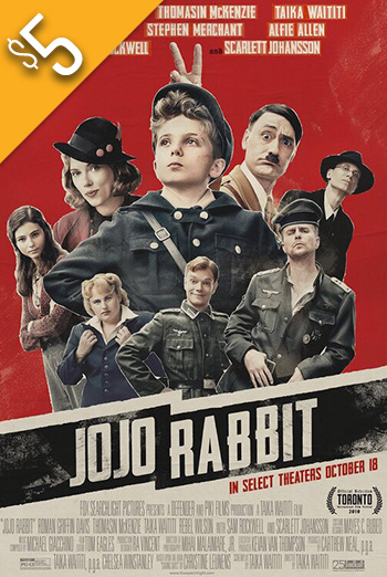 Jojo Rabbit - in theatres soon