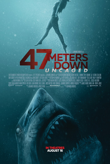 47 Meters Down: Uncaged movie poster
