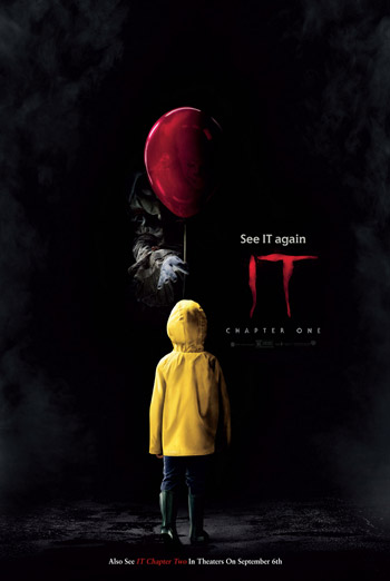IT: Chapter One (2017) Re-Release movie poster