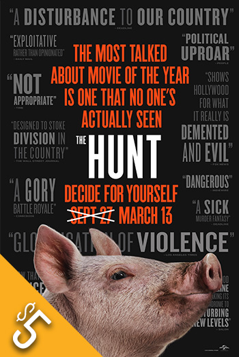 Hunt, The movie poster