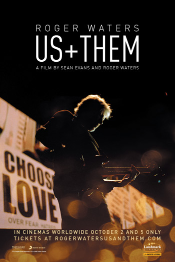 Roger Waters: Us+Them movie poster