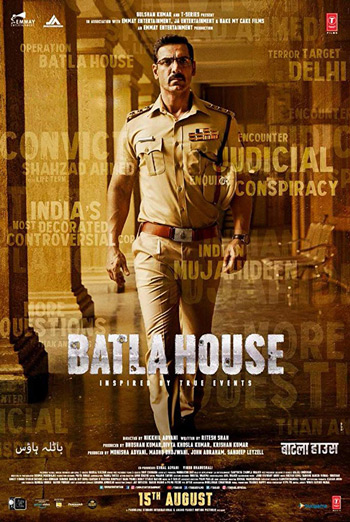 Batla House (Hindi w E.S.T.) movie poster