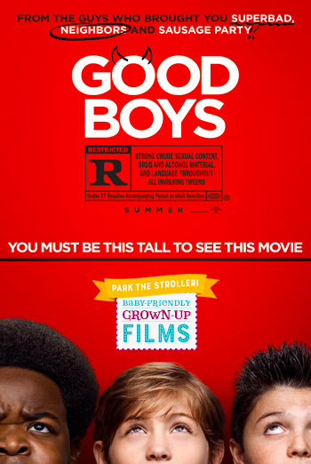 Good Boys (Park the Stroller) movie poster