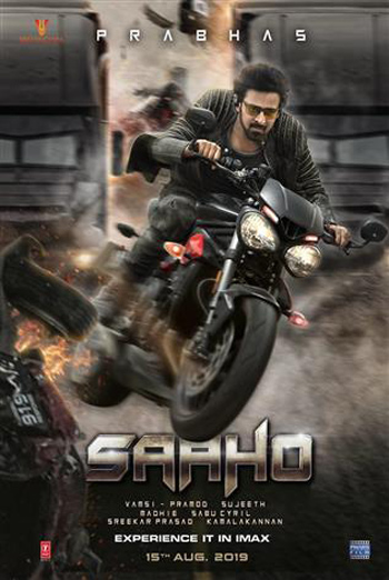 Saaho (Hindi W/E.S.T.)(IMAX) movie poster