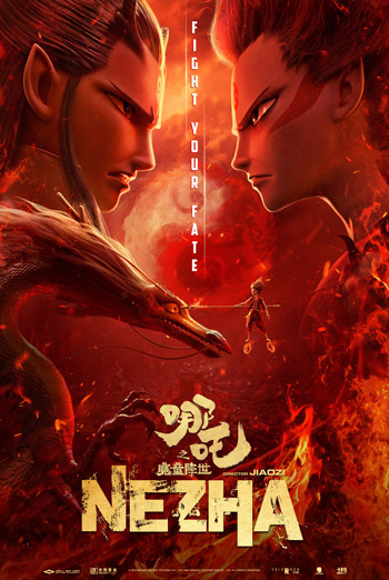 Ne Zha (Mandarin w E.S.T.) movie poster