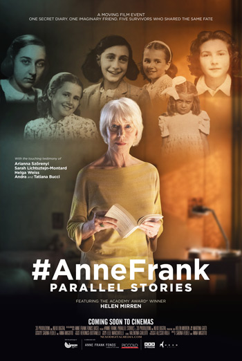 #AnneFrank: Parallel Stories movie poster