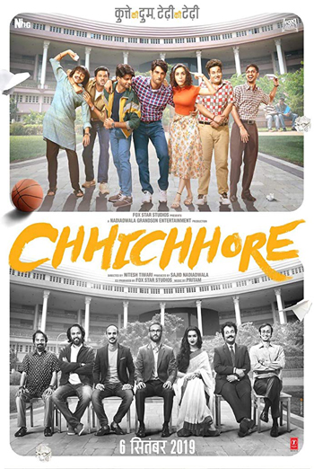 Chhichhore (Hindi W/E.S.T.) movie poster