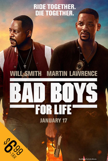 Bad Boys For Life - in theatres 01/17/2020