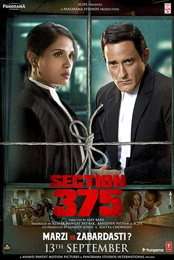 Section 375 (Hindi W/E.S.T.) movie poster