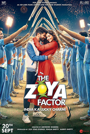 Zoya Factor, The (Hindi W/E.S.T.) movie poster