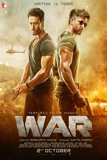 War (Hindi W/E.S.T.) movie poster