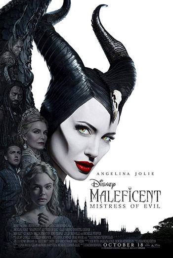 Maleficent: Mistress of Evil (Park the Stroller) movie poster