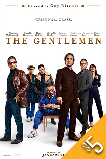 Gentlemen, The movie poster