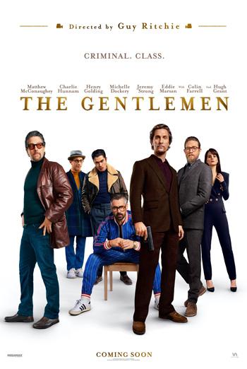Gentlemen, The movie poster