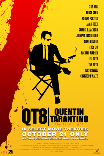 QT8: Quentin Tarantino The First Eight movie poster