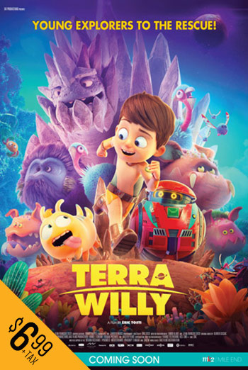 Terra Willy: Unexplored Planet - in theatres 02/21/2020