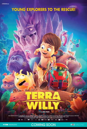 Terra Willy: Unexplored Planet movie poster