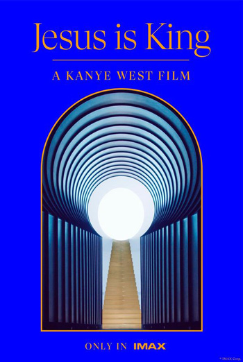 Jesus is King: A Kanye West Film (IMAX) movie poster