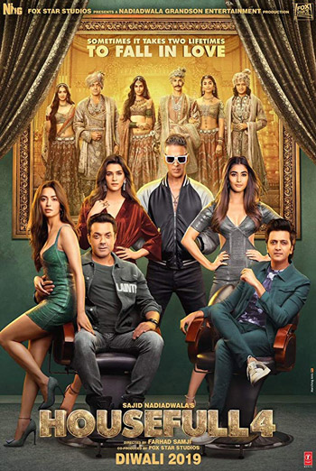 Housefull 4 (Hindi W/E.S.T.) movie poster