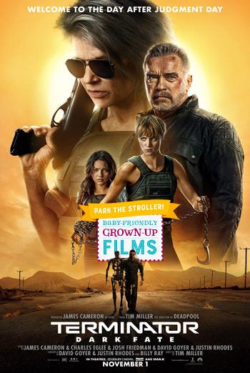 Terminator: Dark Fate (Park the Stroller) movie poster