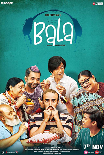 Bala (Hindi w/E.S.T.) movie poster