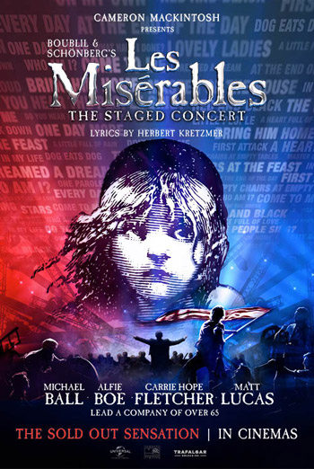 Les Miserables - The Staged Concert movie poster