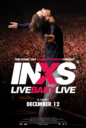 INXS: Live Baby Live at Wembley Stadium movie poster