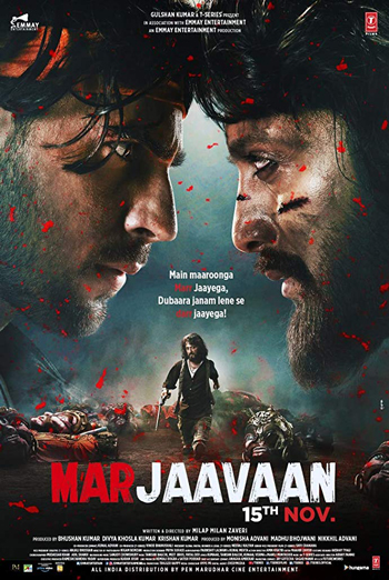 Marjaavaan(Hindi W/E.S.T.) movie poster