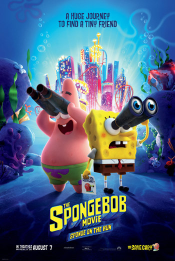 Spongebob Movie: Sponge on the Run movie poster