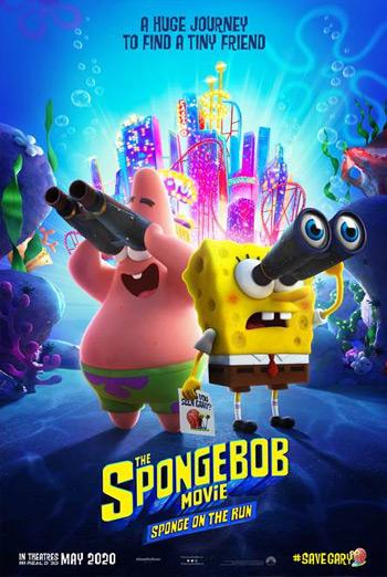 Spongebob Movie: Sponge on the Run movie poster