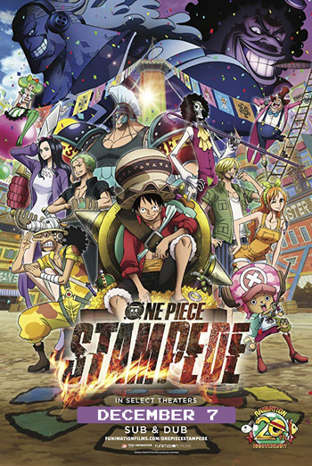 One Piece: Stampede (Japanese w EST) movie poster