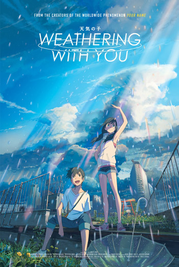 Weathering With You (Japanese w EST) movie poster