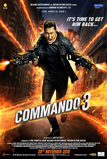 Commando 3 (Hindi W/E.S.T.) movie poster